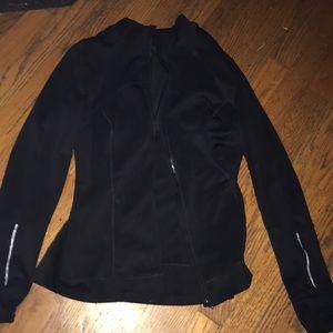 Athletic zip up jacket